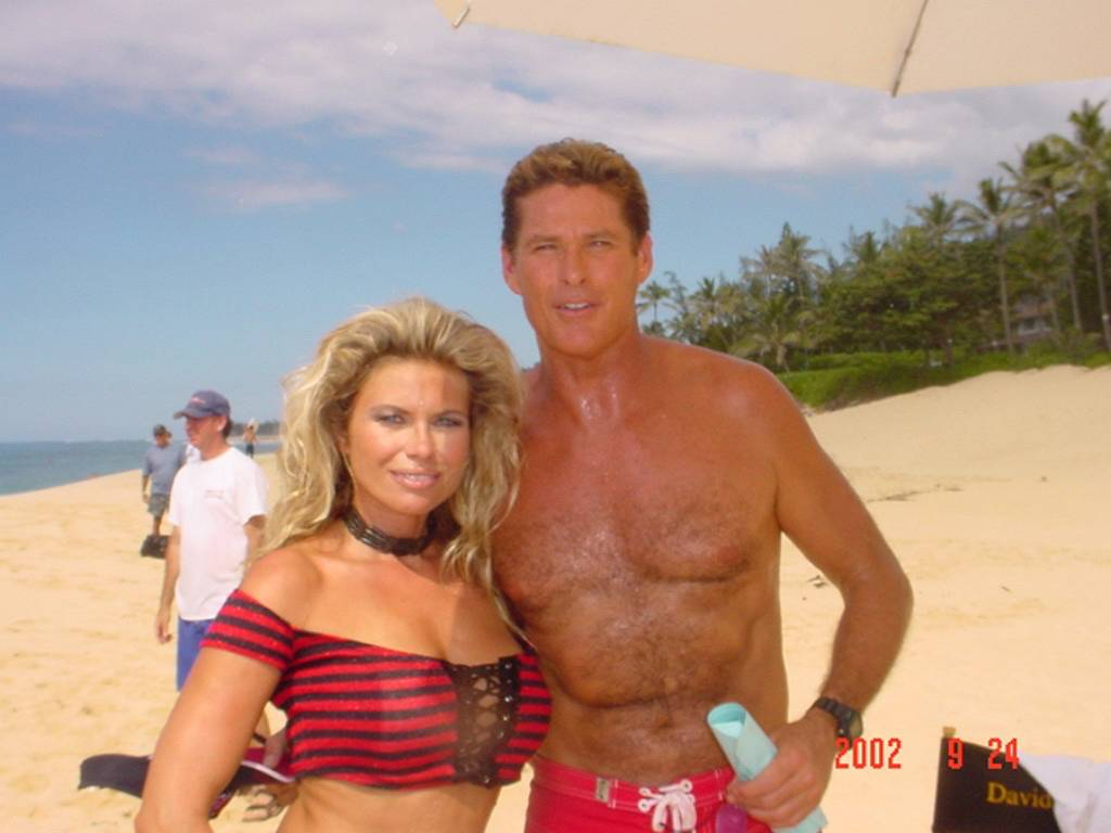 elke-jeinsen-david-hasselhoff-celebrities